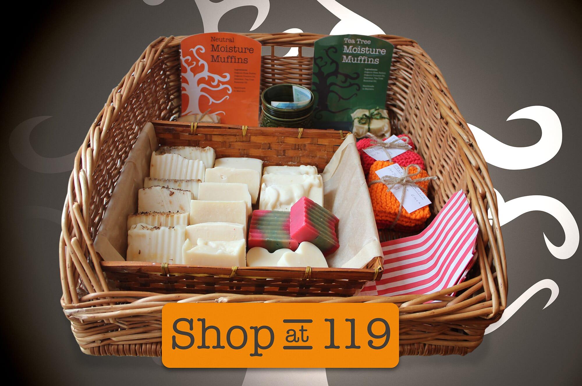 Shop at 119 product basket