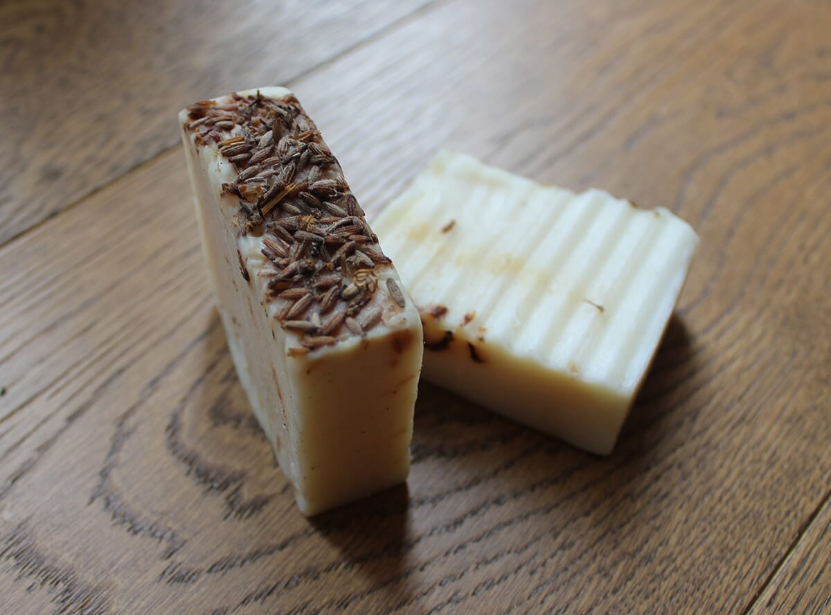 Seeded Goats Milk Soap