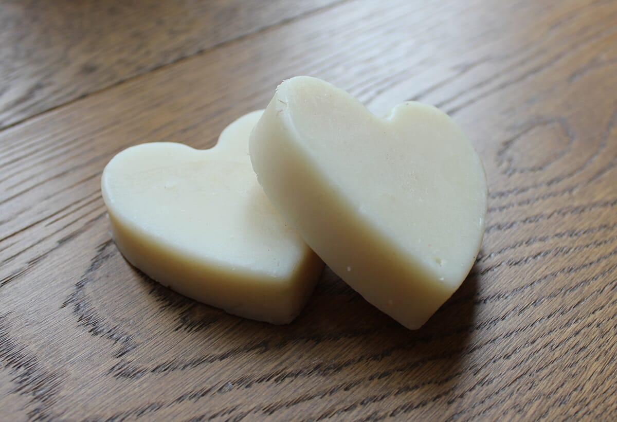 Heart Goats Milk Soap